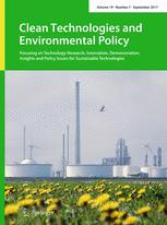 Clean Technologies and Environmental Policy 7/2017