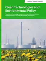 Clean Technologies and Environmental Policy 8/2017