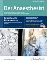 Der Anaesthesist