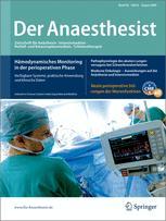 der anaesthesist springer.de