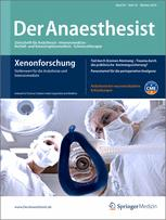 der anaesthesist springerlink Libnews highlights events the issue accessing springerlink titles has been fixed anaesthesist (der anaesthesist.