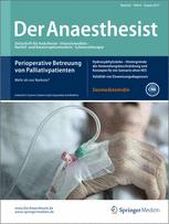 der anaesthesist springer verlag