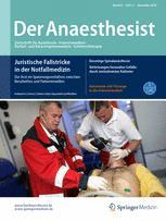 Der Anaesthesist 11/2016