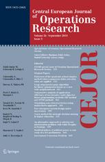 Central European Journal of Operations Research