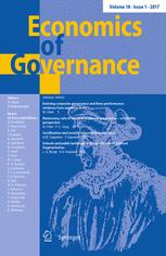 Economics of Governance