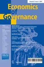 Economics of Governance