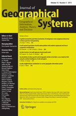 Journal of Geographical Systems