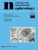 Clinical and Experimental Nephrology