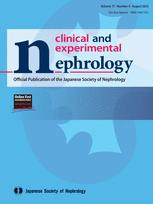 Clinical and Experimental Nephrology