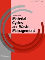 Journal of Material Cycles and Waste Management 4/2017