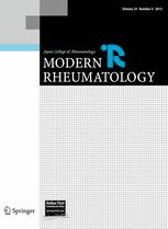 Japanese Journal of Rheumatology