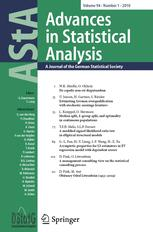 AStA Advances in Statistical Analysis