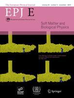 The European Physical Journal E