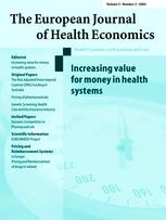 The European Journal of Health  Economics, formerly: HEPAC