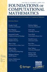Foundations of Computational Mathematics