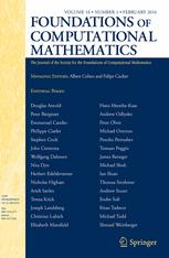 Foundations of Computational Mathematics