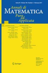 Annali di Matematica Pura ed Applicata (1923 -)