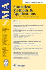 Statistical Methods and Applications
