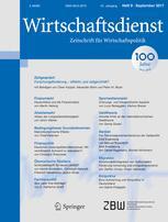 Wirtschaftsdienst 9/2017