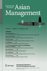 International Journal of Asian Management
