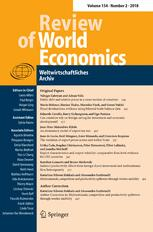 Review of World Economics