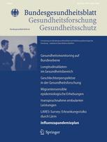 Bundesgesundheitsblatt Gesundheitsforsch.Gesundheitsschutz