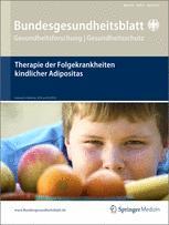 Bundesgesundheitsblatt - Gesundheitsforschung - Gesundheitsschutz