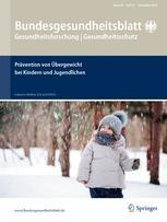 Bundesgesundheitsblatt - Gesundheitsforschung - Gesundheitsschutz 11/2016