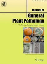 Journal of General Plant Pathology