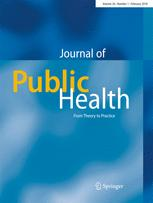 Zeitschrift für Gesundheitswissenschaften = Journal of public health