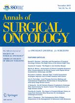 Annals of Surgical Oncology