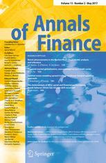 Annals of Finance 2/2017