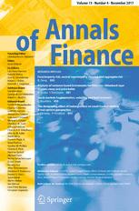 Annals of Finance