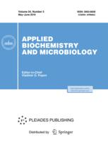 Applied Biochemistry and Microbiology