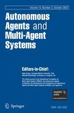 Autonomous Agents and Multi-Agent Systems