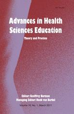 Advances in Health Sciences Education