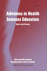 Advances in Health Sciences Education