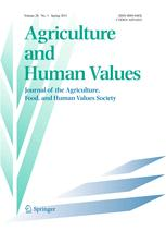 Agriculture and Human Values