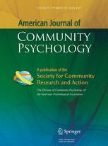 American Journal of Community Psychology