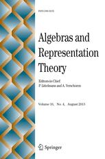 Algebras and Representation