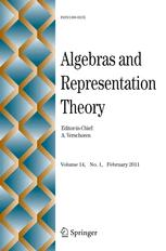 Algebras and Representation Theory