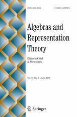 Algebras and Representation Theory