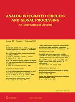 Analog Integrated Circuits and Signal Processing