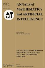 Annals of Mathematics and Artificial Intelligence