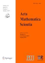 Acta Mathematica Scientia