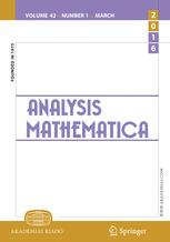 Analysis Mathematica