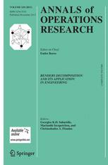 Annals of Operations Research