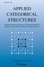 Applied Categorical Structures