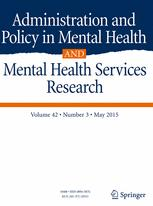 Administration and Policy in Mental Health and Mental Health Services Research