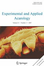 Experimental and Applied Acarology